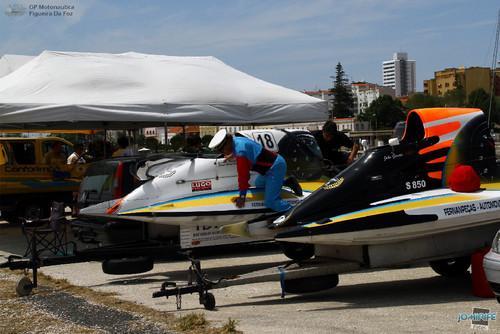 GP Motonautica (023) Boxes - Mecânicos dos F4