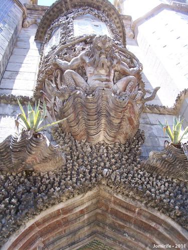 Sintra: Palácio da Pena - Entrada com monstro