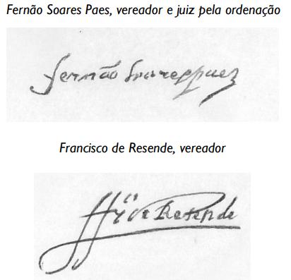 AHMC. Livro dos Acordos ... 1599, assinaturas 1.pn