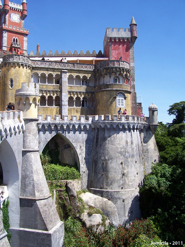 Sintra: Palácio da Pena - Torres