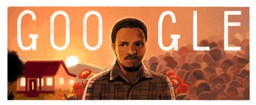 Steve Biko - Google Doodle