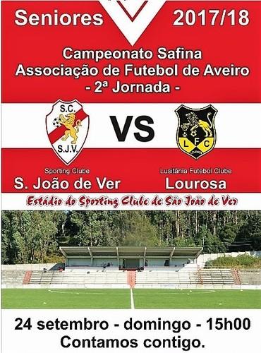 Seniores SC S João de Ver vs Lourosa