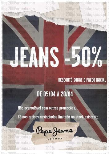 Novas promoções   FREEPORT   Spaccio e Pepe Jeans