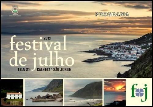 Mais uma edição do Festival de Julho...