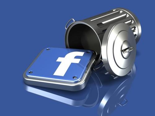 apagar conta facebook