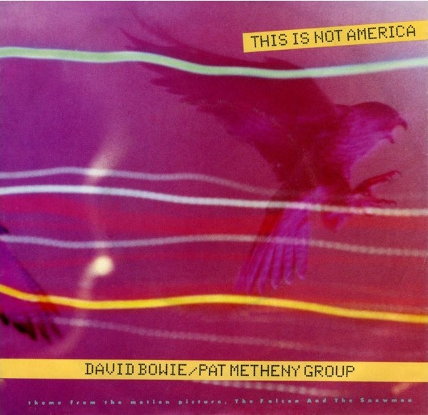 David Bowie - Pat Metheny Group ‎– This Is Not