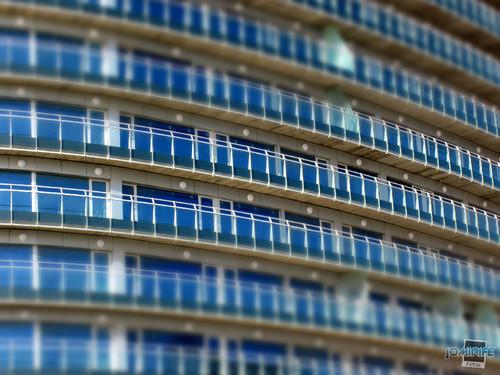 Hotel Galante: Padrão de janelas