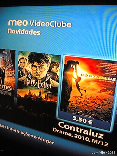 Filme CONTRALUZ disponível no MEO VideoClube