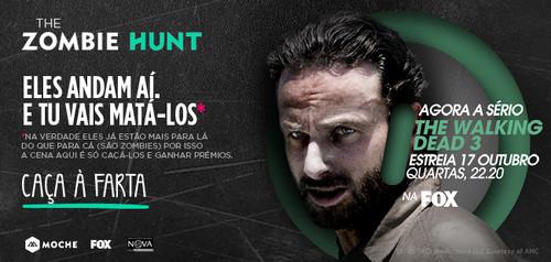 """Moche, FOX e Universidade Nova lançam jogo """"The Zombie hunt"""""""