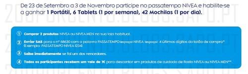Passatempo Nivea + Vale 1€
