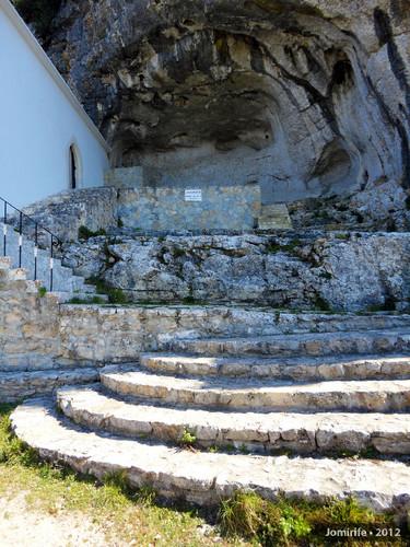 Serra de Sicó:Senhora da Estrela - Escadas rocha