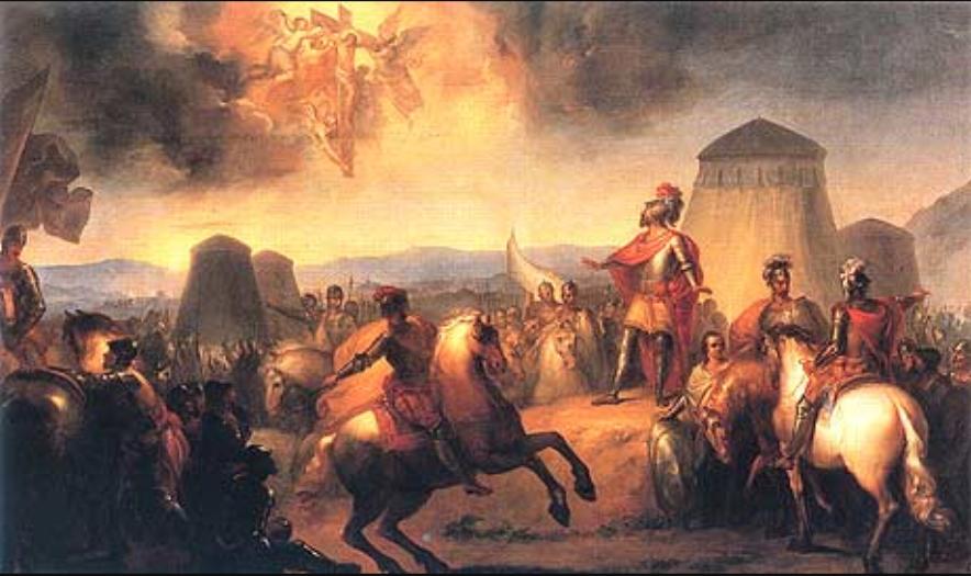 Batalha de Ourique. Domingos António de Sequeira.