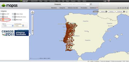 SAPO Mapas - Preços Combustíveis
