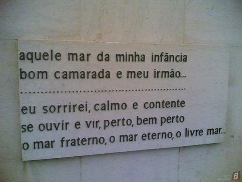 Figueira da Foz - Jardim João de Barros: Poema