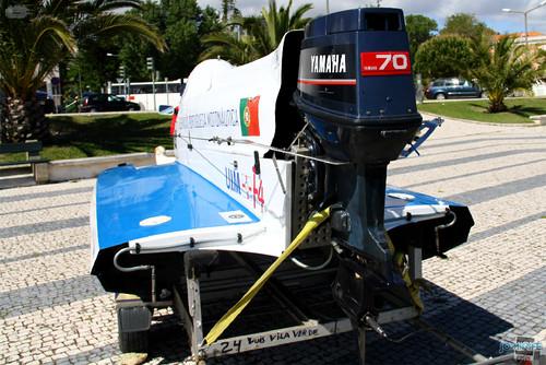 GP Motonautica (005) Exposição - Motor de um F4