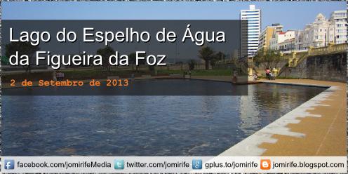 Blog Post: Figueira da Foz: Lago do Espelho de Água no forte de Santa Catarina