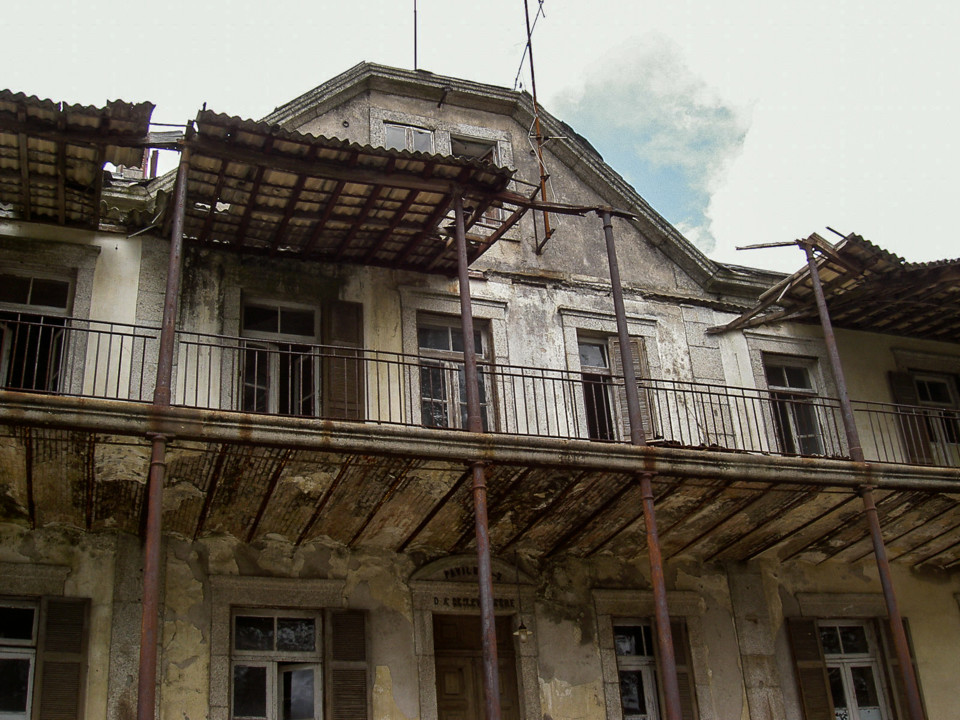 Sanatório - Pavilhão D. António de Lencastre -