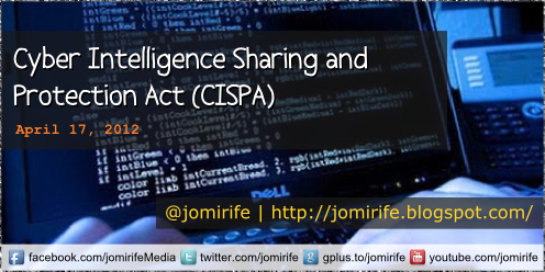 Blog: Cyber Intelligence Sharing Protection Act