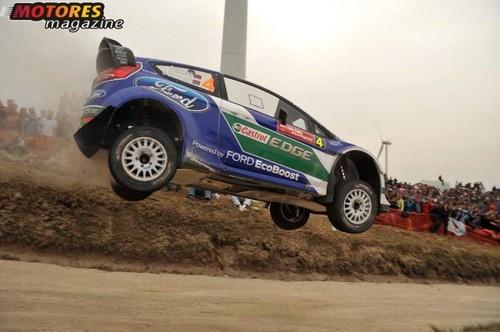 Petter Solberg venceu o WRC Rally Sprint em Fafe...