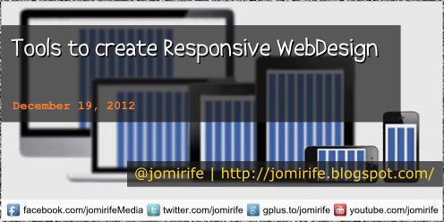 Blog Post: Tools to create Responsive WebDesign