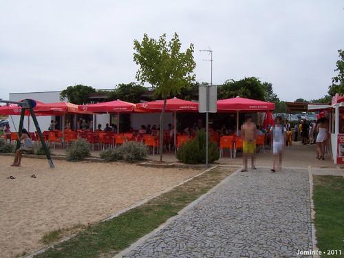 Praia fluvial do Azibo - Café