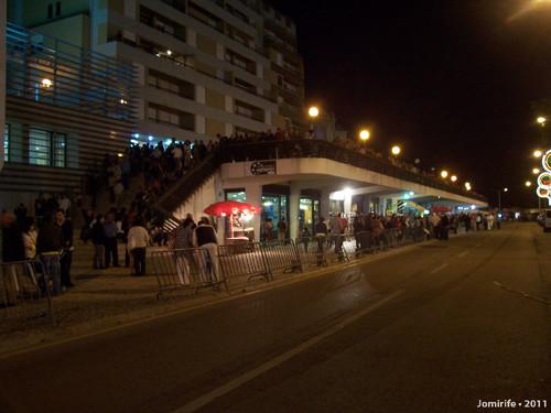 Figueira da Foz: Esplanada cheia para ver marchas
