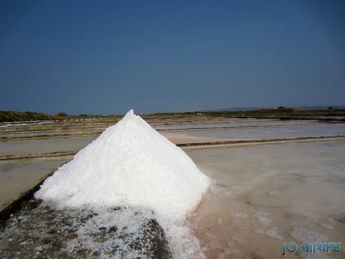 Salinas da Figueira da Foz (11) Montes de sal [en] Salt fields of Figueira da Foz in Portugal