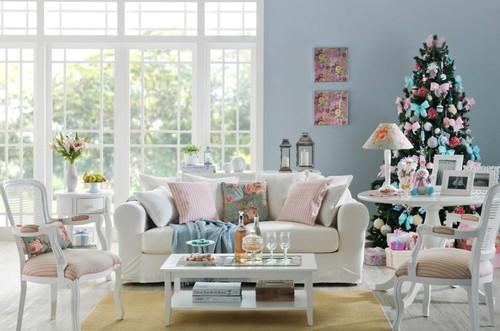 decoracao de sala natal : decoracao de sala natal:Salas de estar com cheirinho a natal – Decoração e Ideias