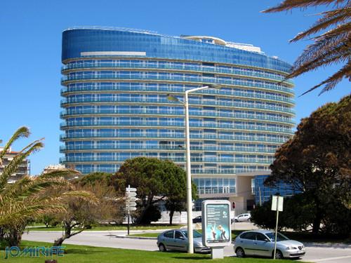 Hotel Ponte Galante na Figueira da Foz de perfil (2) [EN] Hotel Galante Bridge in Figueira da Foz by side