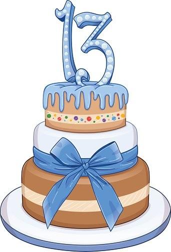 92146613-blue-bar-mitzvah-cake-for-13th-birthday.j
