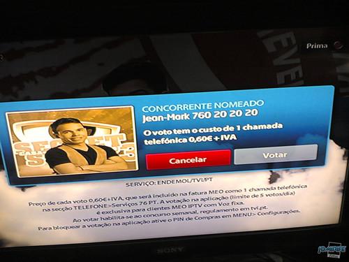 Votar na Casa Dos Segredos pela app MEO IPTV