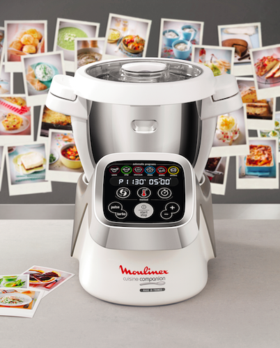 Moulinex lan a robot multifun es cuisine companion as for Robot cuisine moulinex