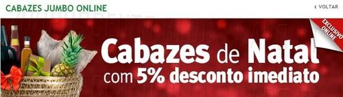 Promoção cabazes natal | JUMBO | até 16 dezembro