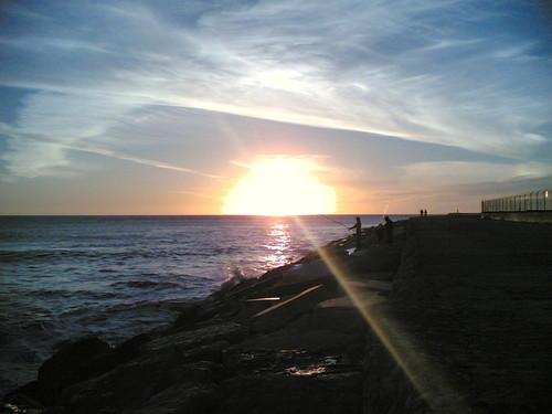 Pôr-do-sol na Figueira da Foz
