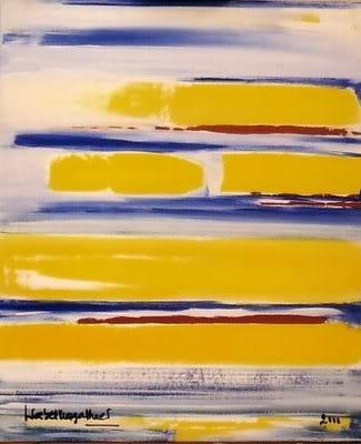 Isabel Magalhães tarde solar; 2000; 92 x 73 cm; acrílico sobre tela
