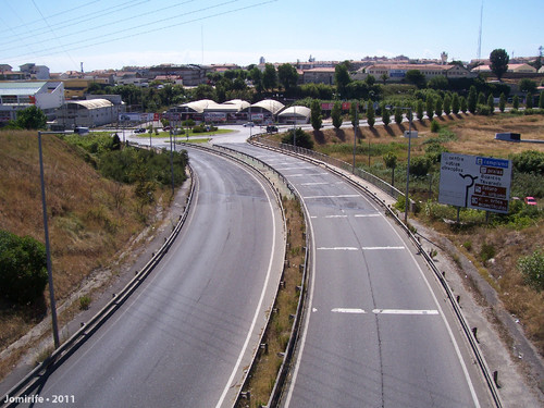 Entrada na Figueira da Foz pela Auto-estrada (2)