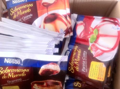 Sobremesas do Mundo Nestlé - Embaixadores