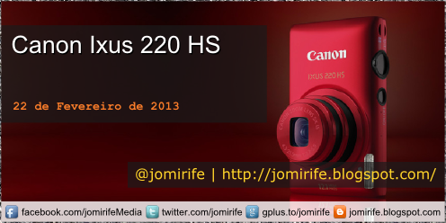Unboxing: Canon Ixus 220 HS