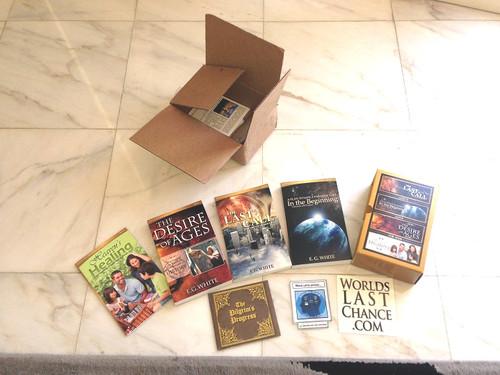 Amostras Worldslastchance - 4 Livros, Cd e Autocolantes - Recebido 15110788_u7yAa
