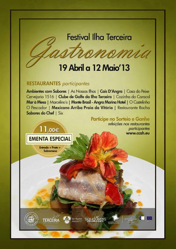 Festival de Gastronomia na Terceira...