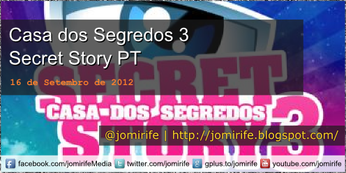 Blog Post: Casa dos Segredos 3 Secret Story PT