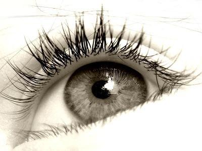 Olhos...com pestanas