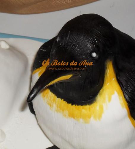 Bolo Artistico Pinguim, Bolo Decorado Pinguim, Bolo Pinguim, Décoré gâteau Penguin, Decorated Cake Penguin