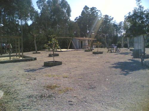 Parque da Tapada, Barreiras