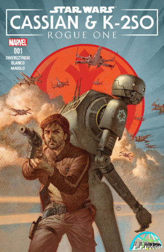 Star Wars - Rogue One - Cassian & K2SO Annual (201