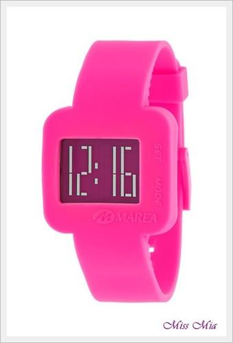 relógio marea rosa