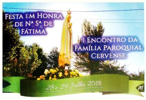 Vila de Cerva - Festa da Nossa Senhora de Fátima.