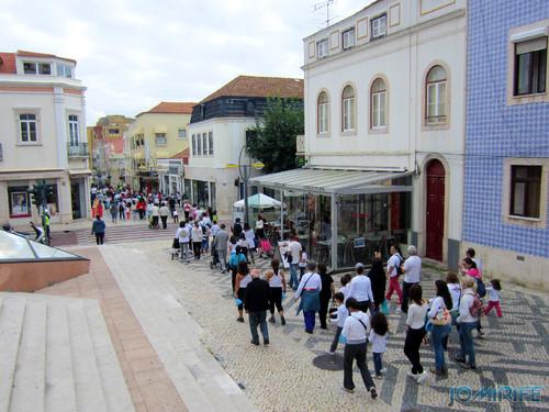 """Caminhada Solidária """"Coração Saudável, Coração Solidário"""" na Figueira da Foz - Rua Cândido dos Reis, Bairro Novo (3) [en] Solidarity walk in Figueira da Foz Portugal"""