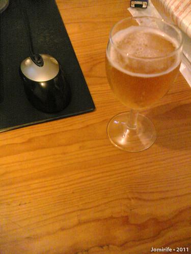 Uma cerveja enquanto trabalho