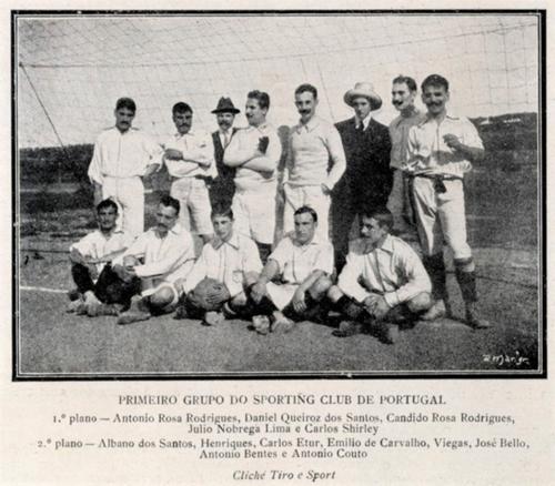 Sporting 1907-08 Revista Tiro e Sport nº 378 30.3